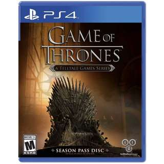 Game of Thrones (Telltale Games Series)