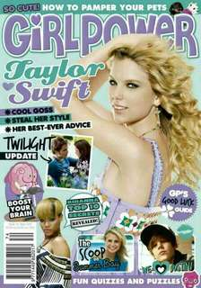 Girlpower magazine Taylor Swift