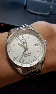Tag Heuer Carrera Automatic GMT Twin time WV2116 fullset