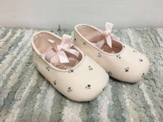 Mamas and Papas Baby Pink Soft Shoes (Preloved)