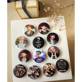 BTS Badge-price reduced with free gift