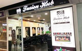 Colour / Highlight + Wash and Blow + Hair Treatment + Cut for 1 Person