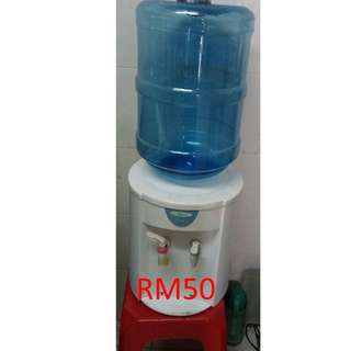 water dispenser, hot and normal