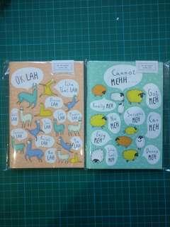 WIWF Singlish A6 notebooks
