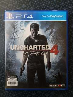 Uncharted 4: A Thief's End (First Owner)