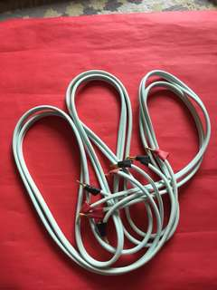 A pair of [SUPRA 10.0] Speaker Cables : 如相片所示