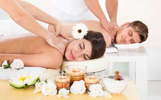 3.5-Hour Massage and Facial Spa Indulgence for 2 People