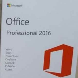 Office 2016 Perpetual License (Box Set Available)