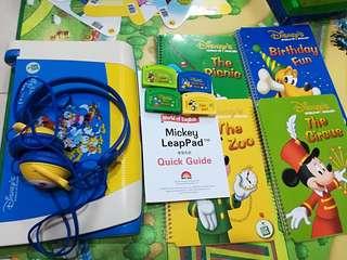 迪士尼美語disney's world of english world family Mickey leappad