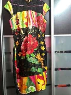 Floral Vintage Cheongsam