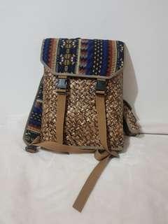Native Abaca Laptop Backpack