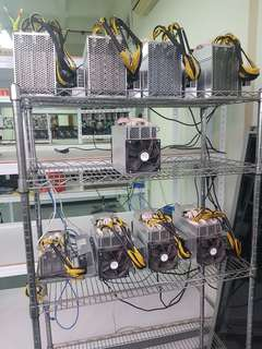 Mining rig warehouse hosting sharing