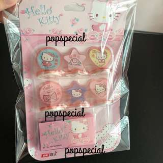 Hello Kitty Stamp Chop With Ink Pad