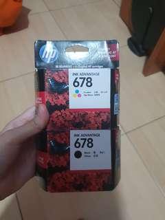 Tinta Printer HP - 678