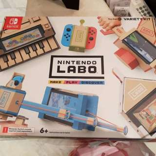 BRAND NEW Nintendo Switch LABO set