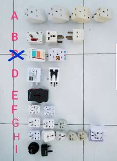 Multi Plugs and Adapters