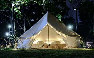East Coast Park: 2D1N Stay in Couple Deluxe Tent for 2 People