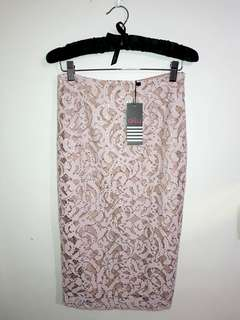 Ally fashion midi skirt