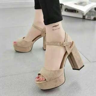 buckle heels