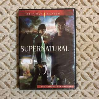 SUPERNATURAL SEASON 1&2 DVD