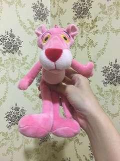Bag charm gantungan tas pink panther miniso