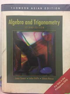 Algebra and Trigonometry - 2nd edition