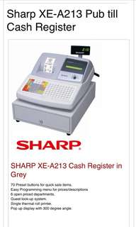 Sharp Cash Register Machine