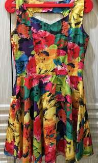 Floral Colourful Dress