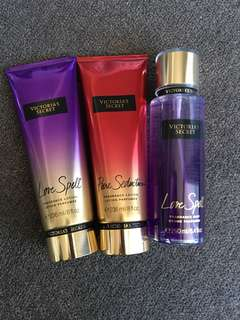 BN Victoria's Secret Body Spray & Lotion - Buy 2 or more for $12 ea