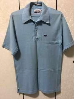 🚚 Lacoste&izod聯名款特殊藍鱷魚版短衫