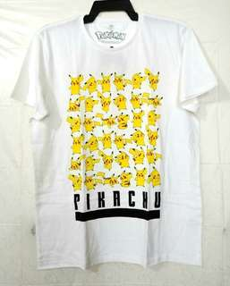 Original Nintendo Pokemon Pikachu White T Shirt