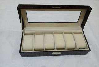 Watch box organizer