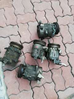 Compressor Aircond Nissan Rb25 neo Rb25det rb25neo Rb20 rb20det Rb20na A31 cefiro skyline r32 r33