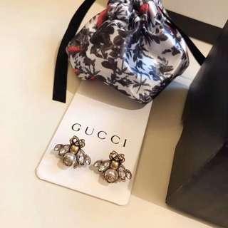 Gucci 耳釘