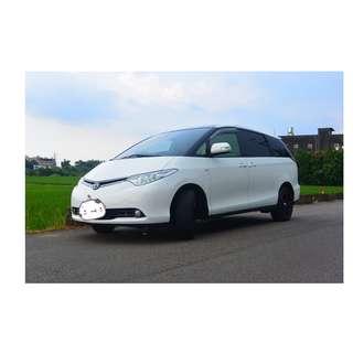 2009年 Toyota  PREVIA  白 ✅0頭款 ✅免保人✅低利率✅低月付 FB搜尋:阿源 嚴選二手車/中古車買賣