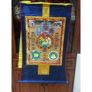 🚚 Sipaho - Tibetan Thangka of Protection