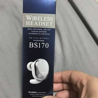 Wireless headset bs170