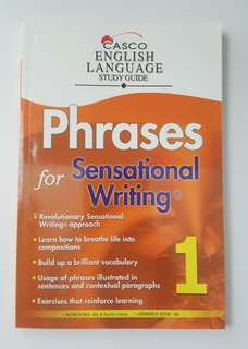 Phrases for Sensational Writing - Book 1