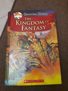 THE KINGDOM OF FANTASY BY GERONIMO STILTON