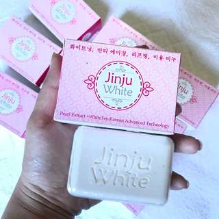 🚚 (Best Seller) JINJU WHITE SOAP