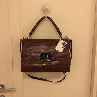Love Moschino leather handbag