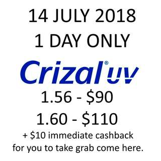 Crizal UV Spectacle Lenses Optical