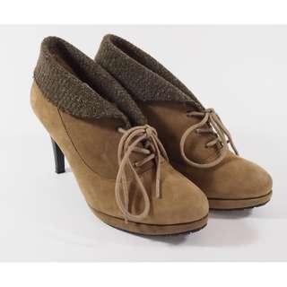 🚚 Angel Italy 麂皮優雅高跟鞋 (Elegant suede high heel)