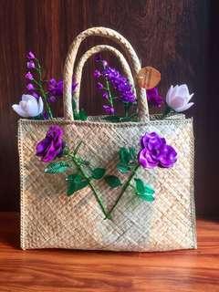 Bunga Mote Acrylic Flowers