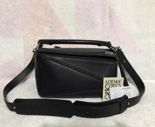 Loewe 真皮 Puzzle Bag(small)