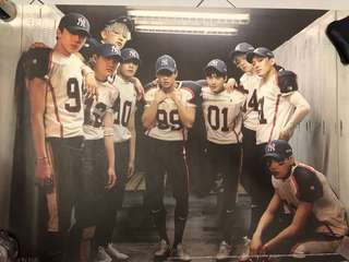 EXO LOVE ME RIGHT POSTER