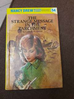 NANCY DREW - THE STRANGE MESSAGE IN THE PARCHMENT