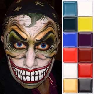 12 Color Makeup Painting Palette 人体彩绘盘
