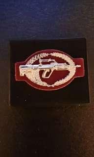 SAF Combat Skills Badge for No.3 Military Uniform