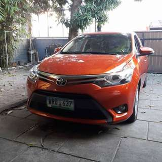 2013 Vios 1.5 G (Top of the line) Automatic